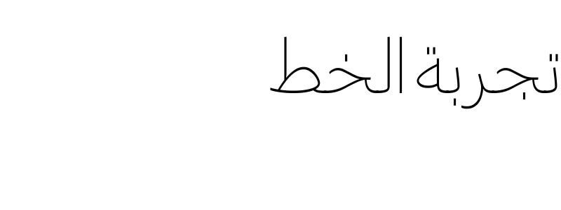 Greta Arabic AR + LT Thin